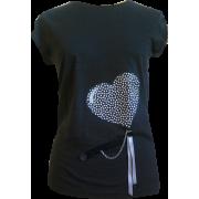 Black heart 4 - T-shirts - 150,00kn  ~ $23.61