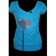 """Black heart5"" - T-shirts - 150,00kn  ~ $23.61"