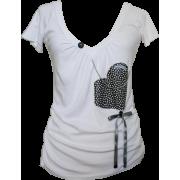 Majica Heart2 - T-shirts - 130,00kn  ~ $20.46
