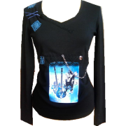 Rock girl dress up - Long sleeves t-shirts - 160,00kn  ~ $25.19