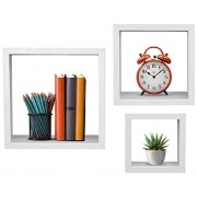 Sorbus Floating Shelves - Hanging Wall Shelves Decoration - Perfect Trophy Display, Photo Frames (White) - Accessories - $17.99