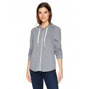 Splendid Women's Rounded Hem Hoodie Grey - Shirts - $98.00