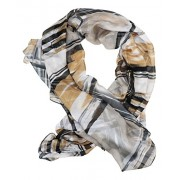 Steve Madden Asso Distressed Strokes Lightweight Fashion Scarf - Accessories - $28.00