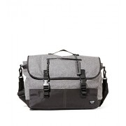 Steve Madden Men's Flannel Commuter Messenger Bag - Accessories - $70.00
