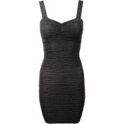 Strappy Textured Bodycon Short - Dresses - £9.99
