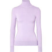 Stretch cotton-blend turtleneck sweater - Pullovers -