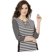 Stripe Lace up - Люди (особы) -