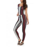 Striped Top and Pants Set - Top - $19.97
