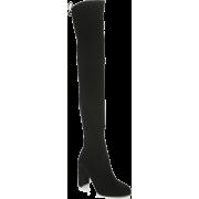 Stuart Weitzman Hiline Suede Over-The-Kn - Boots - $319.20