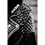 Studded Leather Jacket - My photos -