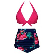 Swiland High Waisted Bikini Two Piece Swimsuits for Women Push up Bathing Suits Bikini - Swimsuit - $39.99