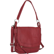 THE SAK Women's Silverlake Mini Flap Fashion Handbag Scarlet - Bolsas pequenas - $118.95  ~ 102.16€
