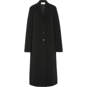 THE ROW black mohair wool long coat - Jacket - coats -