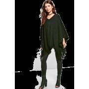 Tassel Poncho,Fashion - Cardigan -