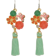 Tassel Drop Earrings - Earrings -