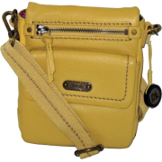 The SAK Parker Leather Small Flap Messenger Sunlight - Mensageiro bolsas - $69.00  ~ 59.26€