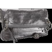 The SAK Pax Convertible 1000030535 Clutch Graphite - Bolsas com uma fivela - $99.00  ~ 85.03€