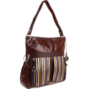 The SAK Pax Leather Large Cross Body Jewel Stripe - Bolsas - $109.00  ~ 93.62€