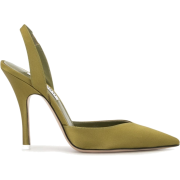 The Attico pointed toe slingback pumps - Classic shoes & Pumps -