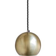 The Globe Collection Pendant - Brass | L - Uncategorized -