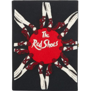The red shoes book clutch Olympia le tan - My look -
