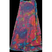 Tie Die Boho Skirt - Skirts -