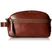 Timberland Men's Leather Toiletry Bag Travel Kit Accessory - Hand bag - $19.99
