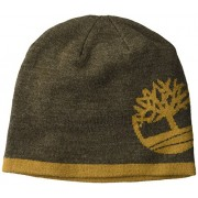 Timberland Men's Reversible Knit In Tree Beanie - Hat - $8.81