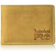 Timberland PRO Men's Leather Rfid Wallet with Removable Flip Pocket Card Carrier - Wallets - $20.32