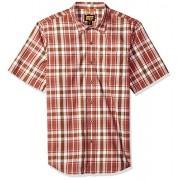 Timberland PRO Men's Plotline Short-Sleeve Plaid Work Shirt - Shirts - $32.44