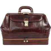Time Resistance Leather doctor bag  - Borsette - $368.00  ~ 316.07€