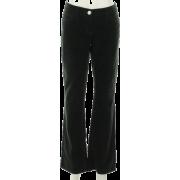 Tommy Hilfiger Boot Cut Corduroy Pant Black - Pants - $49.93