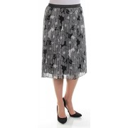 Tommy Hilfiger 100 Womens New 1089 Black Floral Accordion Pleat Skirt XL B+B - Flats - $49.99