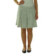Tommy Hilfiger Womens Heathered Pleated A-Line Skirt - Flats - $18.00