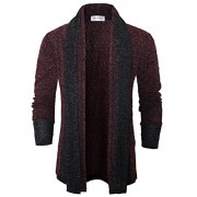 Tom's Ware Mens Classic Slim Fit Knit Open-Front Cardigan - Shirts - $35.99