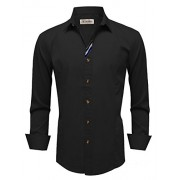 Tom's Ware Mens Stylish Long Sleeve Button Down Shirt - Shirts - $24.99