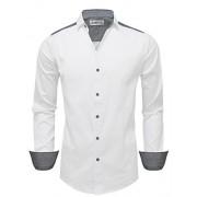 Tom's Ware Mens Trim Shoulder Long Sleeve Dress Shirts - Shirts - $27.99