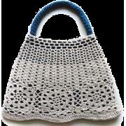Torbica Hand bag White - ハンドバッグ -