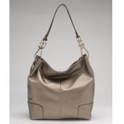 Tosca Classic Shoulder Handbag Dark Pewter - Hand bag - $39.99