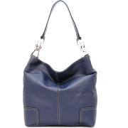 Tosca Classic Shoulder Handbag Navy blue - Hand bag - $39.95