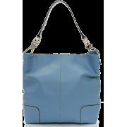 Tosca Classic Shoulder Handbag New Blue - Hand bag - $39.95