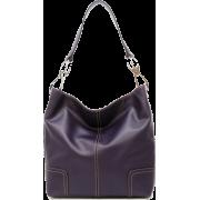 Tosca Classic Shoulder Handbag Purple - Hand bag - $39.95