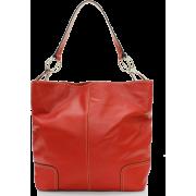 Tosca Classic Shoulder Handbag Red - Hand bag - $39.95