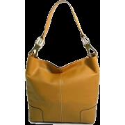 Tosca Classic Shoulder Handbag Tan - Hand bag - $39.95
