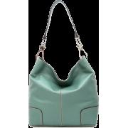 Tosca Classic Shoulder Handbag Teal Green - Hand bag - $39.95
