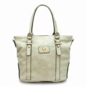Tosca Textured Tote Handbag Gray - Hand bag - $29.95