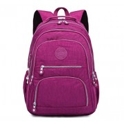 Travel Daypack Lightweight Laptop Backpack Purse for Women Waterproof School Bag - Akcesoria - $26.99  ~ 23.18€