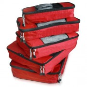TravelWise Packing Cube System - Durable 5 Piece Weekender+ Luggage Organizer Set - Bolsas - $19.99  ~ 17.17€