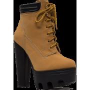 Tread Ruggedly Chunky Lug Booties - Stiefel - $35.91  ~ 30.84€