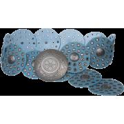 Turquoise disc belt - Remenje -